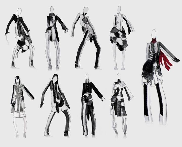 创意联想-女装设计-服装设计