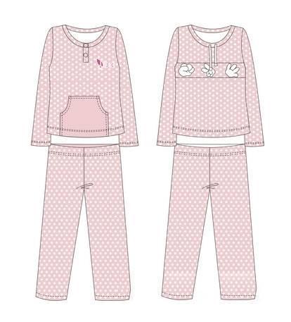 睡衣款式图-内衣/家居设计-服装设计图片