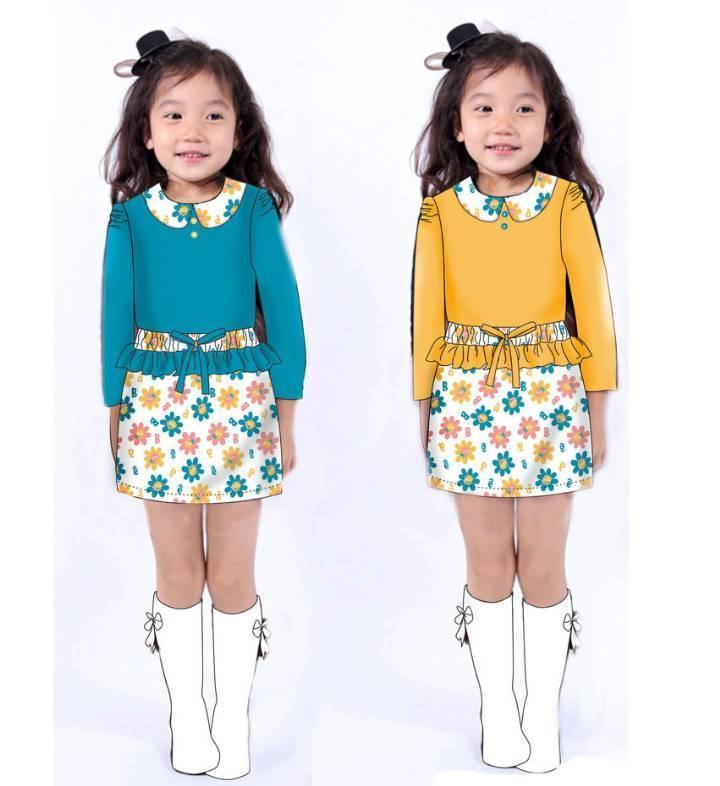 童装连衣裙子款式
