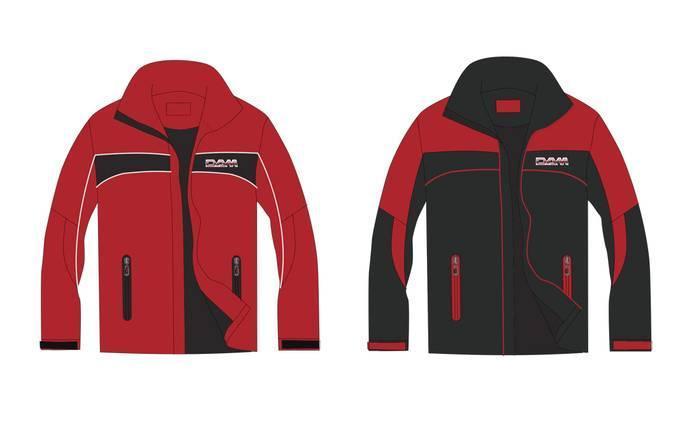 运动装外套款式图-男装设计-服装设计