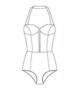 泳衣款式图