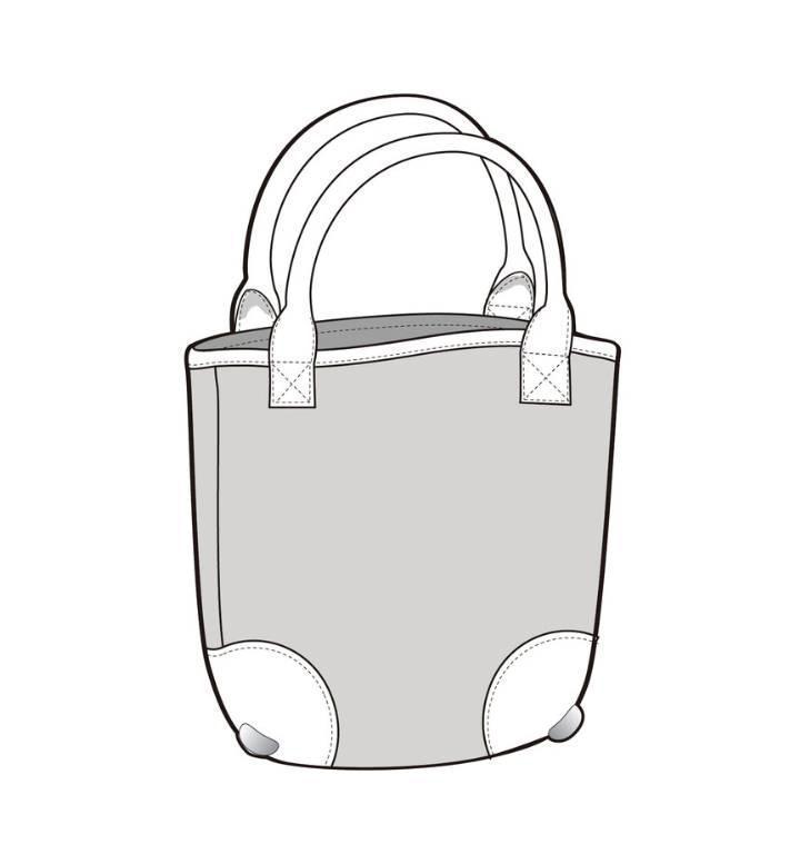 皮包结构手绘图