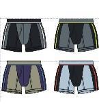 男士内裤款式图