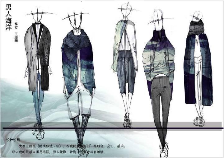 男人海洋-大赛作品设计-服装设计