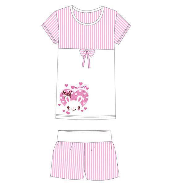 家居睡衣款式图-内衣/家居设计-服装设计图片