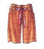 休闲短裤款式
