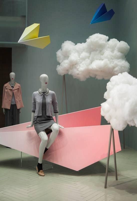 陈列设计橱窗设计 服装展示