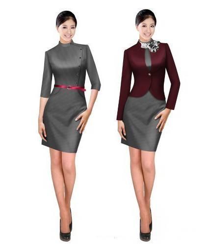 工作服制服款式-职业服装设计-服装设计