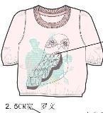 童装上衣款式图