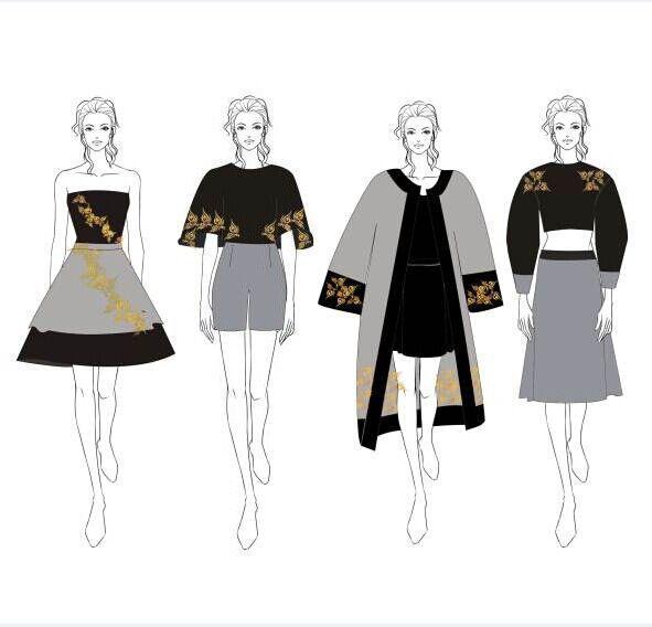 时装-女装设计-服装设计