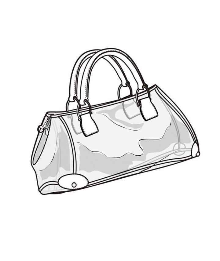 透明材质包包款式图