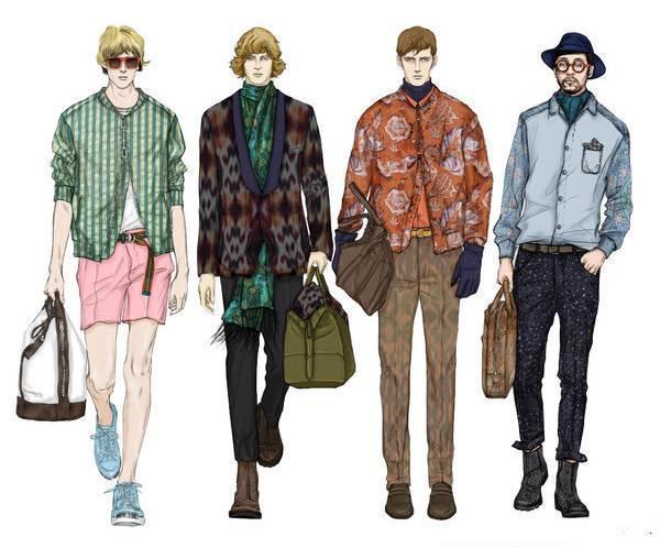 男时装-男装设计-服装设计