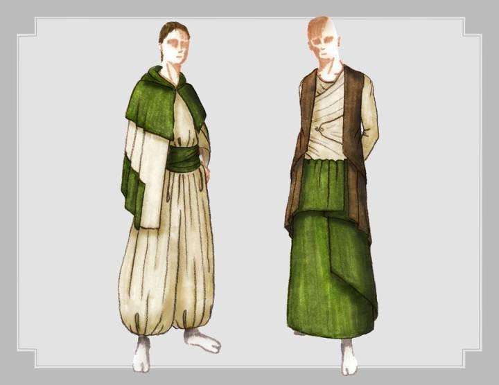 马克笔手绘-男装设计-服装设计