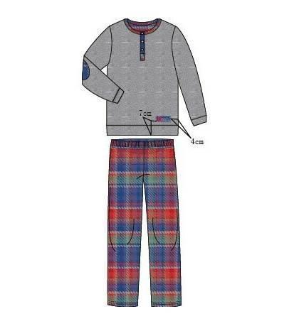 秋冬家居服款式图-内衣/家居设计-服装设计