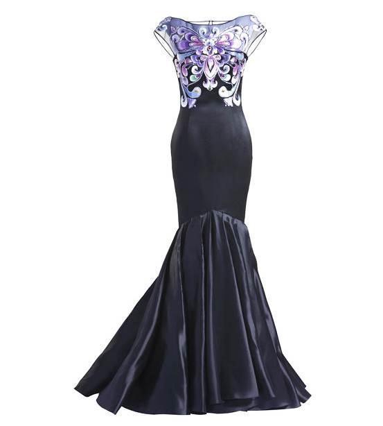 晚礼服成衣-婚纱礼服设计-服装设计