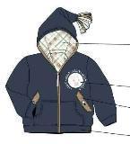 童装卫衣外套
