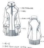 棉服大衣款式工艺