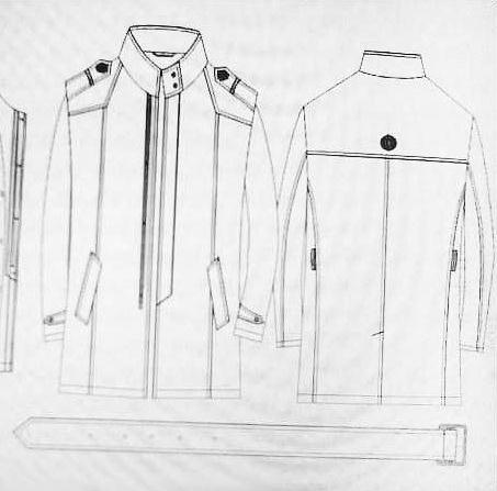 男装设计图