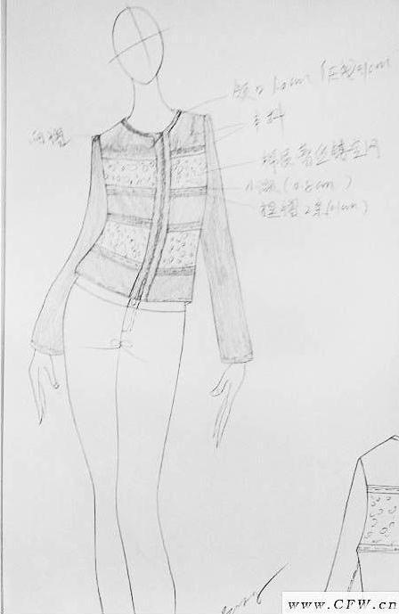 女装设计手稿-女装设计-服装设计