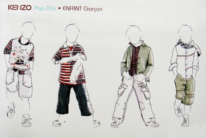 手稿收集-童装设计-服装设计