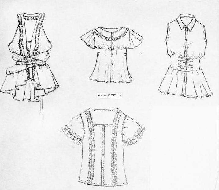 设计服装画步骤
