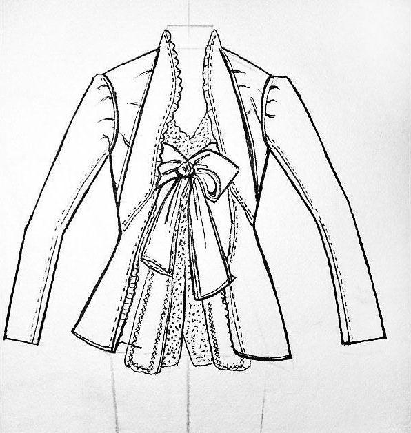 女西装款式设计图-女西装款式图-服装设计