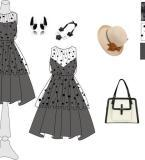 3456连衣裙