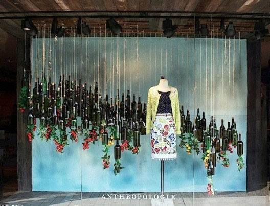 橱窗设计女装陈列作品-橱窗设计女装陈列款式图