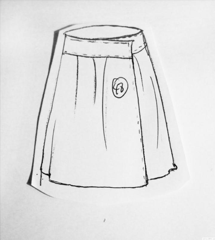 短裙款式-女装设计-服装设计