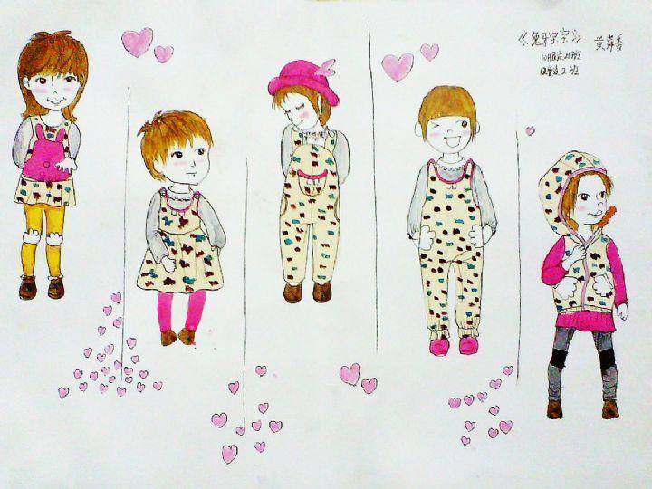 兔牙宝宝-童装设计-服装设计