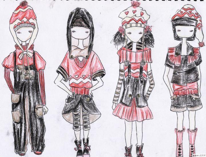 童装-童装设计-服装设计