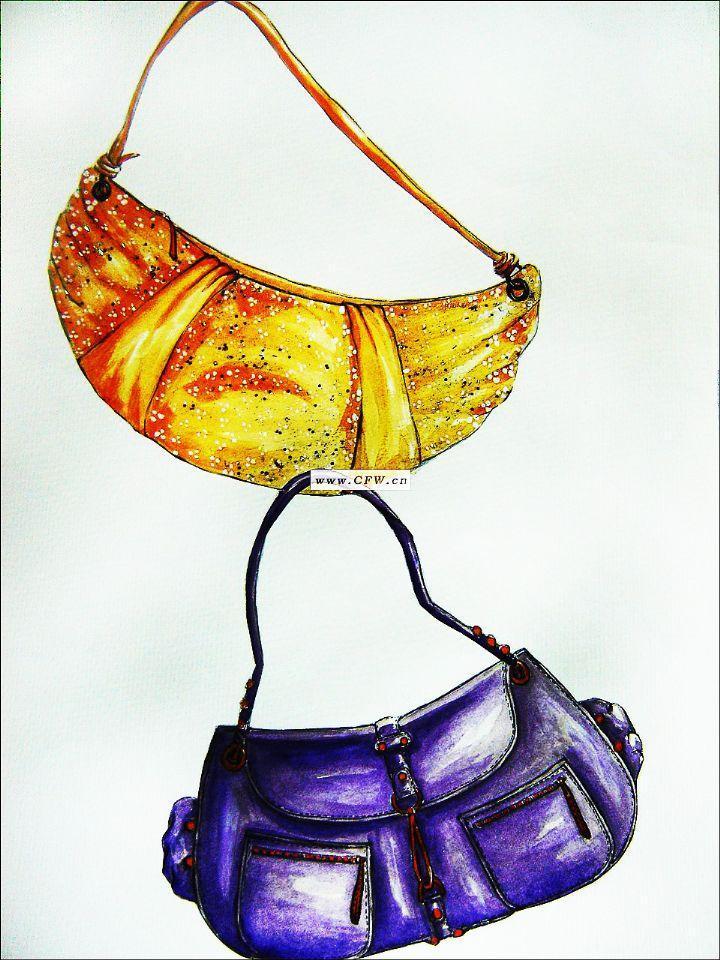 包-鞋帽配饰设计-服装设计