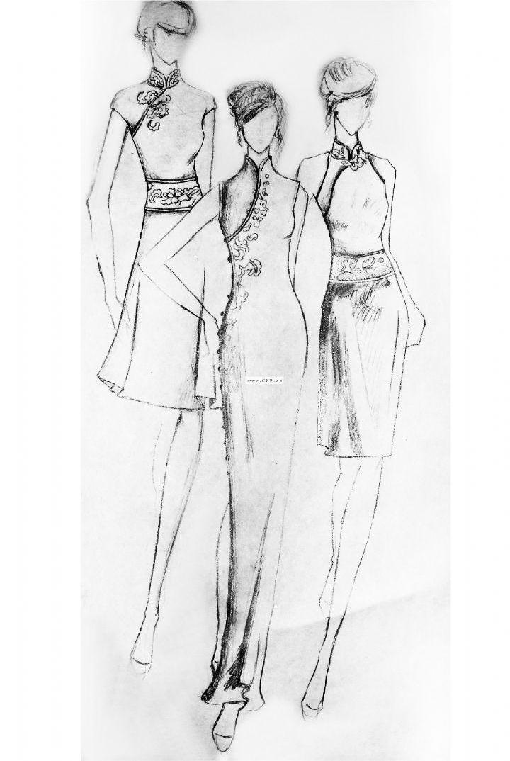 个人-婚纱礼服设计-服装设计