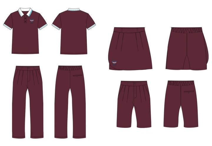 校服设计班服设计作品-校服设计班服设计款式图