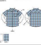 衬衫款式图工艺