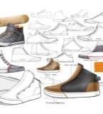 鞋履手稿作品