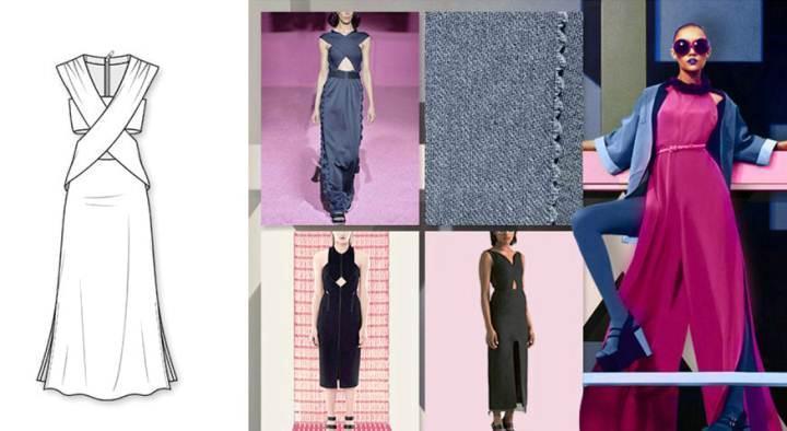 礼裙款式图-婚纱礼服设计-服装设计