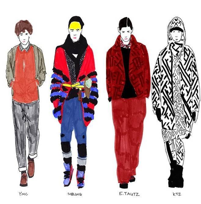 男装秀场搜集-男装设计-服装设计