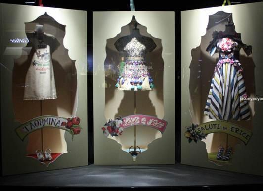 橱窗设计时装陈列-橱窗陈列设计-服装设计