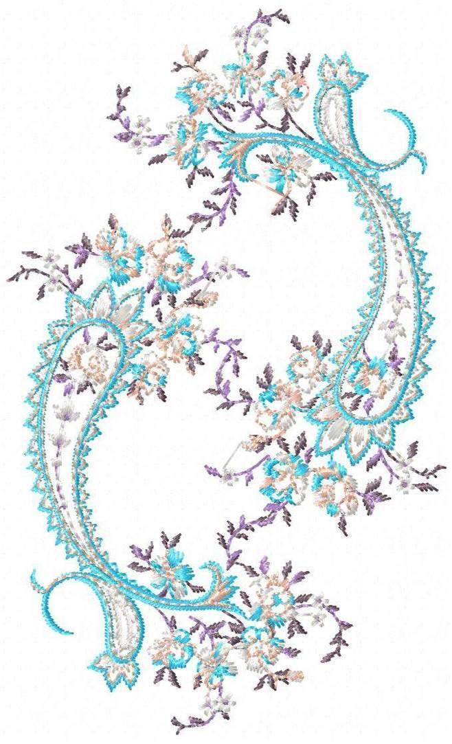 绣花图案-图案设计设计-服装设计