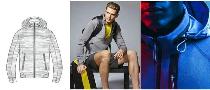运动外套款式图-男装设计-服装设计