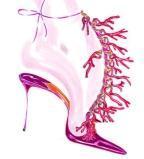 鞋履设计手稿