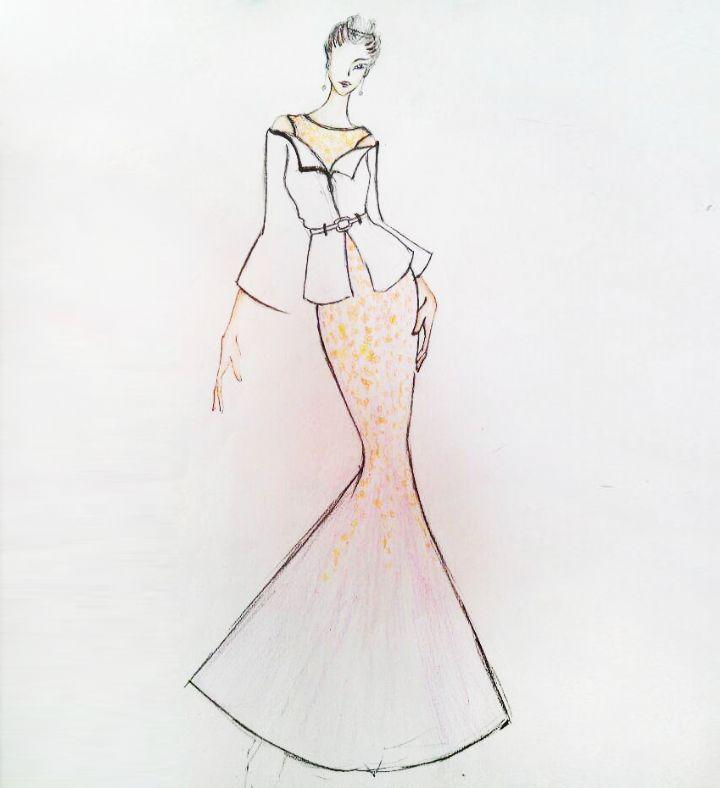 香衣为命-婚纱礼服设计-服装设计