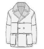 秋冬大衣款式图