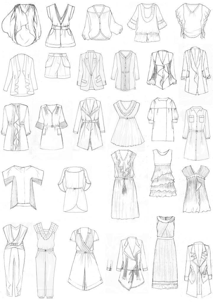 艺术绘图-婚纱礼服设计-服装设计