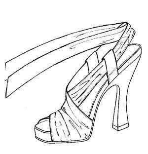 穿鞋子步骤分解图
