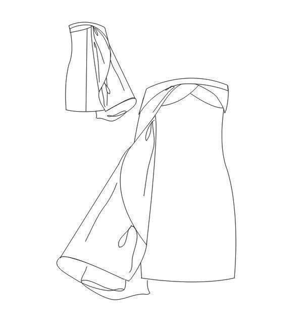小礼服款式图