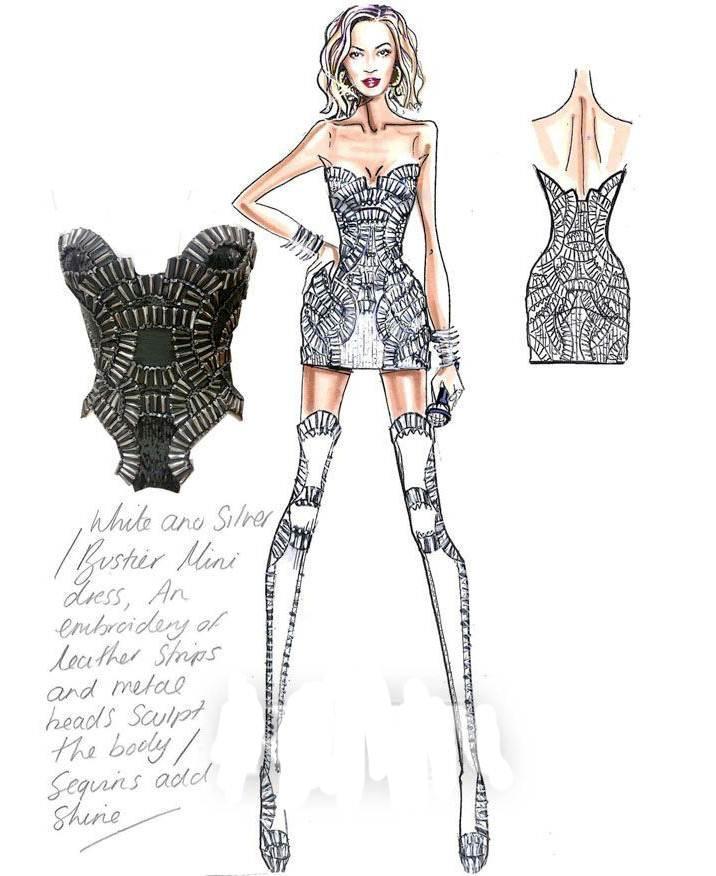 个性小礼裙-婚纱礼服设计-服装设计