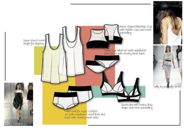 家居服设计-内衣/家居设计-服装设计