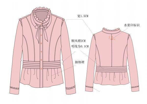 襯衫款式收集-女裝設計-服裝設計